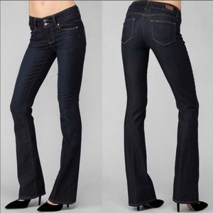 Paige Hidden Hills Boot Cut Jeans Size 25 NWOT